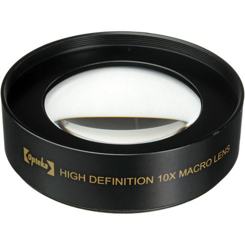 Opteka 10x High Definition II Professional Macro Lens (58mm)