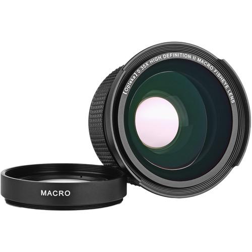 Opteka 52mm 0.35x HD Macro Fisheye Converter Lens