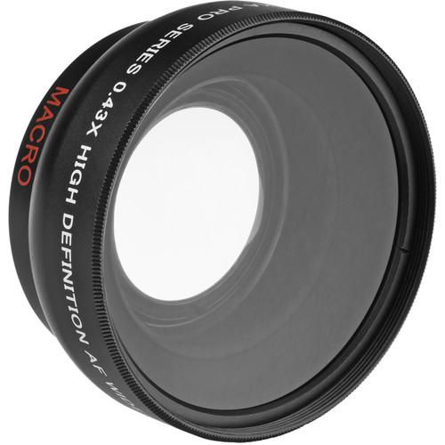 Opteka 37mm 0.43x HD Full Fisheye Converter Lens