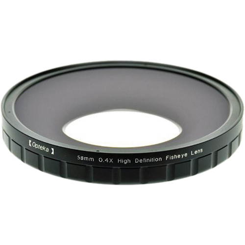 Opteka 58mm 0.4X HD Large Element Fisheye Lens Adapter