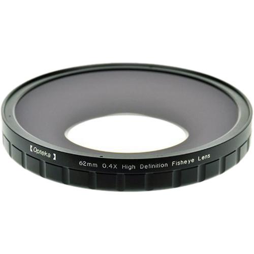 Opteka 62mm 0.4X HD Large Element Fisheye Lens Adapter