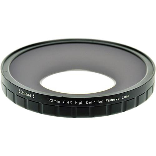 Opteka 72mm 0.4X HD Large Element Fisheye Lens Adapter