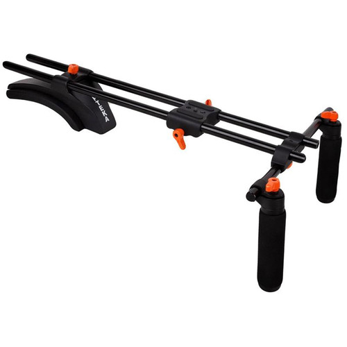 Opteka CXS-300 Dual Grip Video Shoulder Stabilizer System for DSLR Cameras