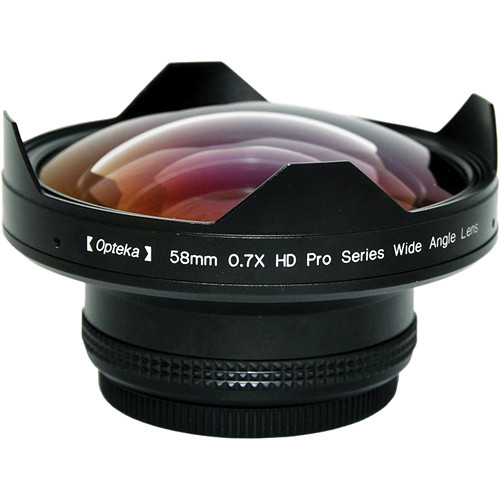 Opteka 58mm 0.7x HD Pro Series Wide Angle Auxiliary Lens