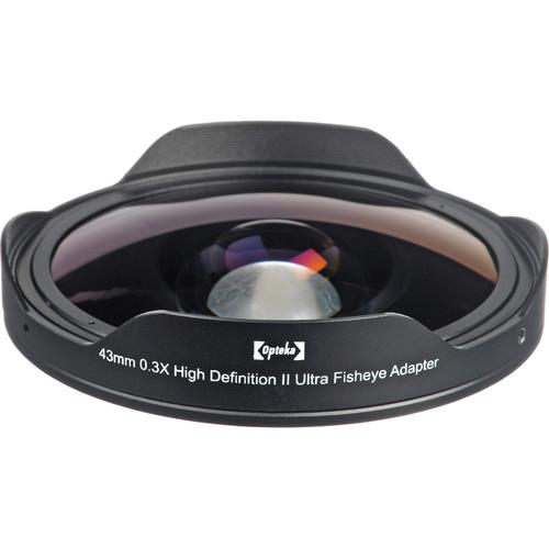 Opteka 43mm 0.3X HD Ultra Fisheye Lens Adapter