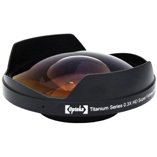 Opteka 112mm Titanium 0.3x HD Ultra Fisheye Adapter