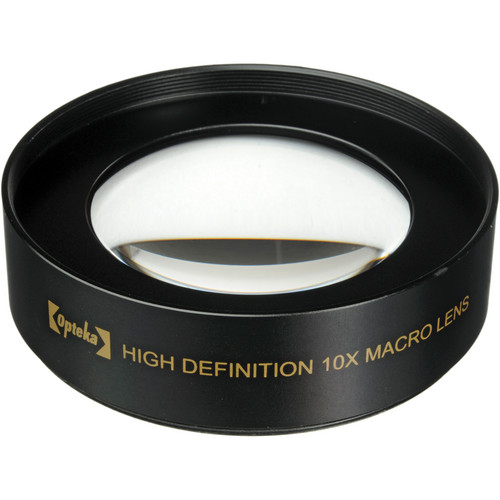 Opteka 10x High Definition II Professional Macro Lens (52mm)