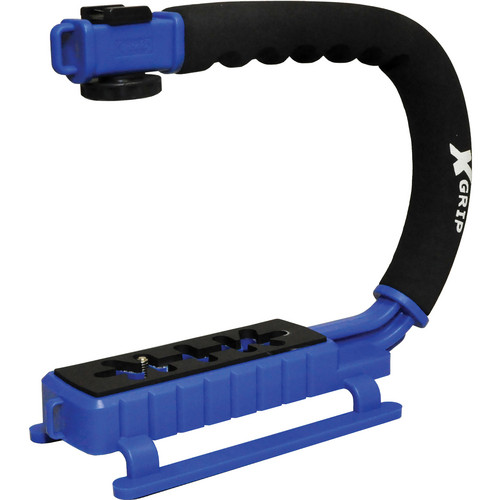 Opteka X-Grip Pro Video Stabilizing Handle (Blue)