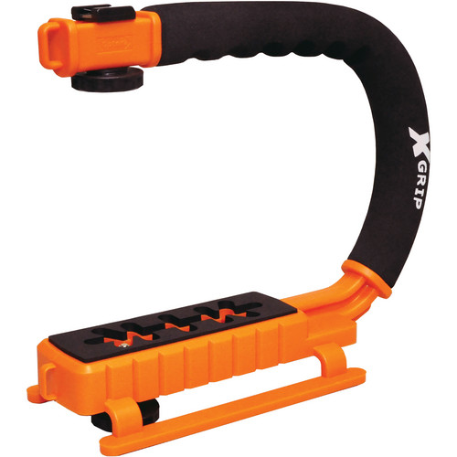 Opteka X-Grip Pro Video Stabilizing Handle (Orange)