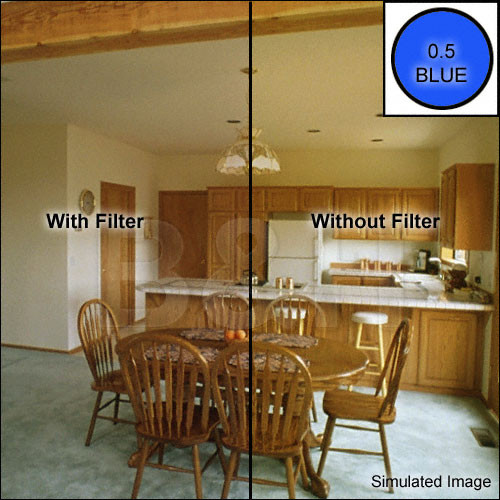 "OptiFlex 3x3"" Blue - CC05B - Color Compensating Resin Filter"