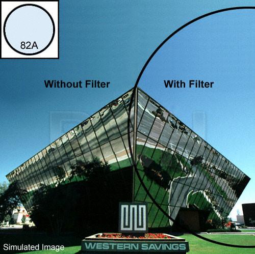 "OptiFlex 4x4"" 82A Color Conversion Resin Filter"