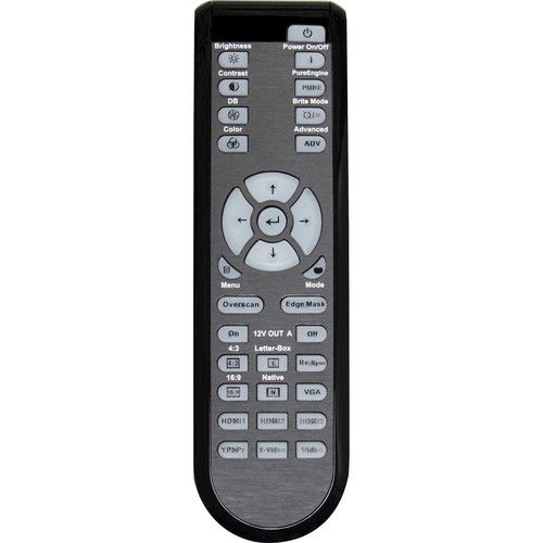 Optoma Technology BR-3046B Remote Control w/ Backlight for HD700X Projector