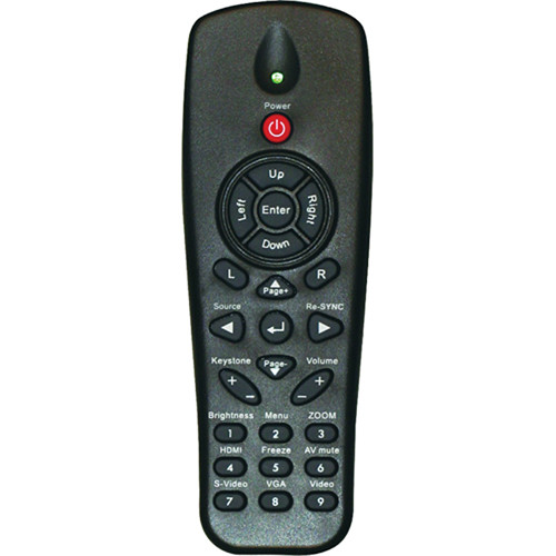 Optoma Technology BR-3047N Remote Control w/ Laser & Mouse for EW536, TW536, PRO350W
