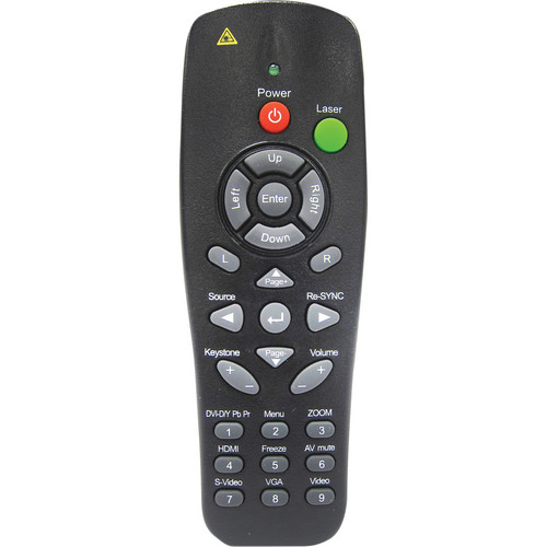 Optoma Technology BR-5033L Remote Control for EH1060 / TX779