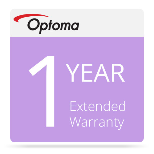 Optoma Technology Projector 1-Year Extended Warranty