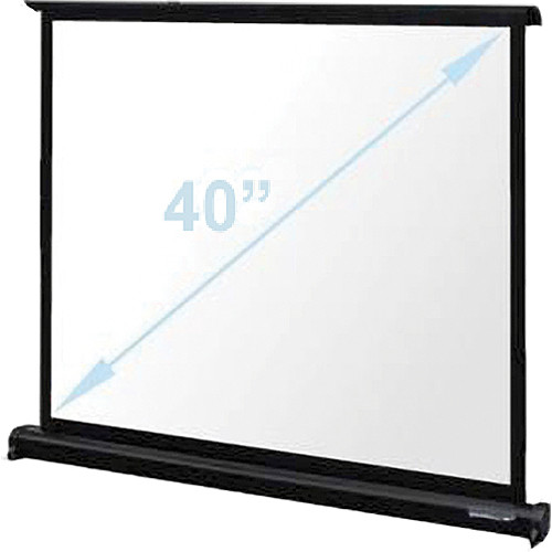 "Optoma Technology DP-MW3040A Matte White Mini Pull-Up Projection Screen (24 x 32"")"
