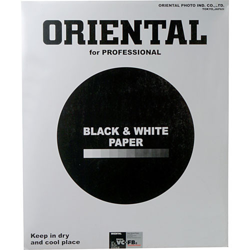 "Oriental Seagull Select VC-FB  Warm Tone Black & White Variable Contrast Double Weight Smooth Glossy 16 x 20"" 50 Sheets"