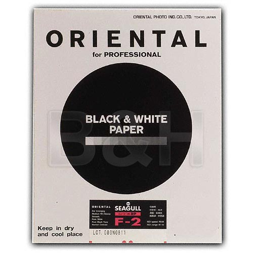 """Oriental Seagull RC-F Grade #2 RP Paper (Glossy, 20 x 24"""", 10 Sheets)"""