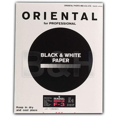 """Oriental Seagull RC-F Grade #3 RP Paper (Glossy, 20 x 24"""", 10 Sheets)"""