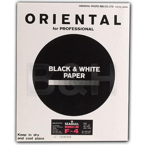 """Oriental Seagull RC-F Grade #4 RP Paper (Glossy, 8 x 10"""", 20 Sheets)"""