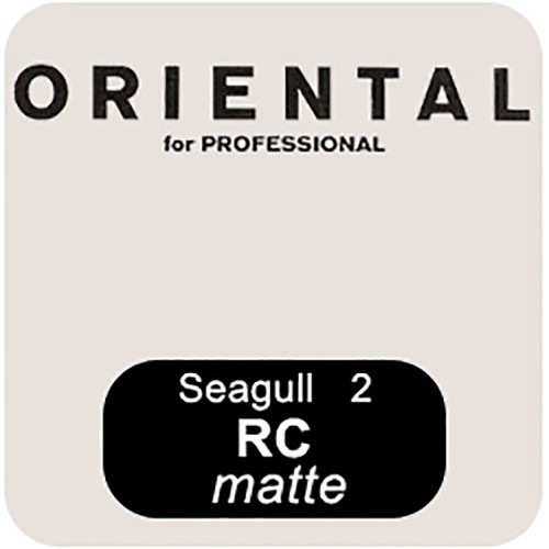 "Oriental Seagull RC-M Grade #2 RP Paper (Matte, 11 x 14"", 50 Sheets)"