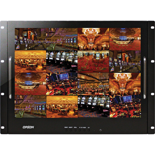 """Orion Images Rack Mount Ready Series 17"""" Rack-Mountable LCD CCTV Monitor"""