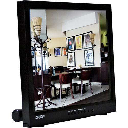 "Orion Images Premium Series 17"" Rack-Mountable LED Backlit LCD Surveillance Monitor"