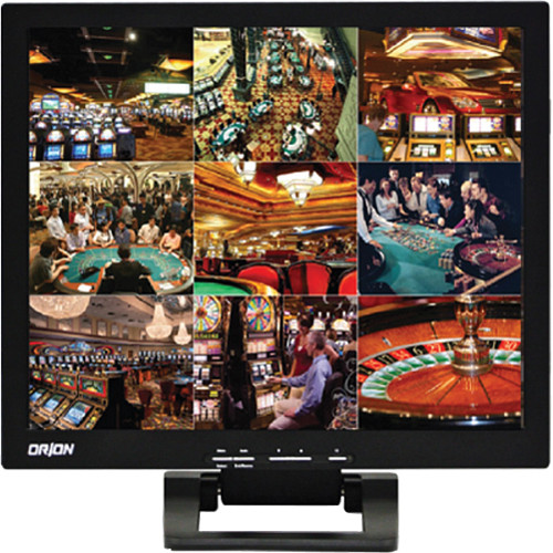 "Orion Images Value Series 19"" Rack-Mountable LCD CCTV Monitor"