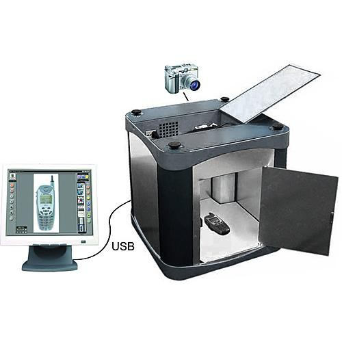 Ortery Photosimile E-Box 100 Digital Photography Studio (120VAC)