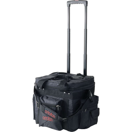 Ortofon 90-CAPACITY GEAR/RECORD TROLLEY WITH WHEELS