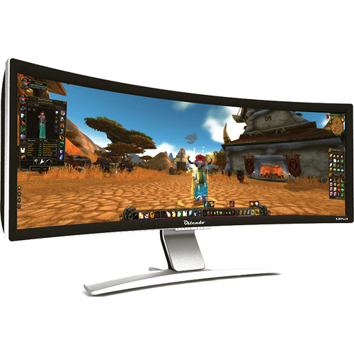 "Ostendo Technologies CRVD 43"" Curved Display"
