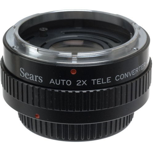 Sears 2X Manual Focus Teleconverter for Canon FD