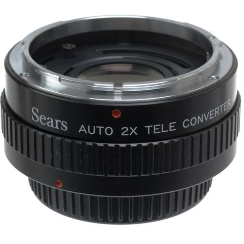 Sears 2X Manual Focus Teleconverter for Canon FD