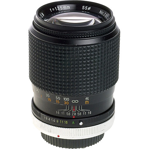Other Brand (Rokinon) Telephoto 135mm f/2.8 Manual Focus Lens for Canon FD