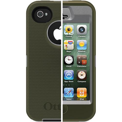 Otter Box Defender Case for iPhone 4/4s (Gunmetal Gray/Envy Green)