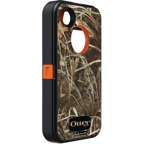 Otter Box Defender Case for iPhone 4/4s (Realtree MAX 4 Blaze Orange)