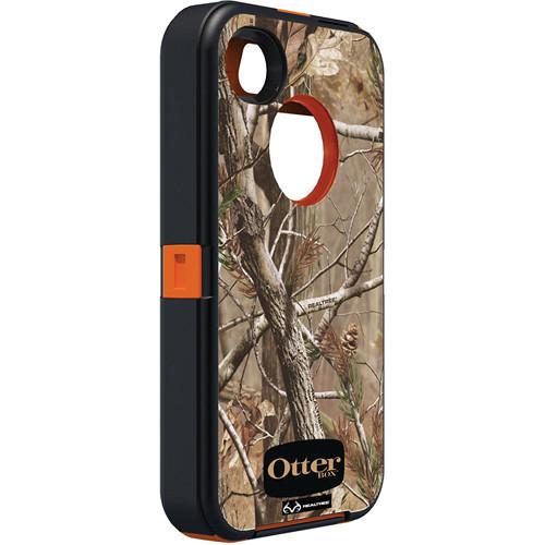 Otter Box Defender Case for iPhone 4/4s (Realtree AP Blaze Orange)