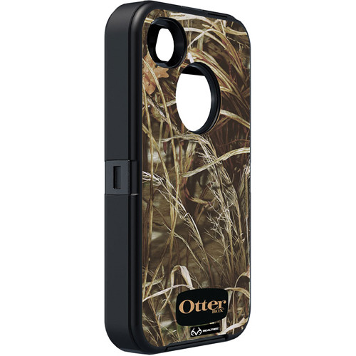 Otter Box Defender Case for iPhone 4/4s (Realtree MAX 4 Black)