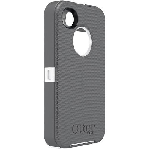 Otter Box Defender Case for iPhone 4/4s (White/Gunmetal Grey)