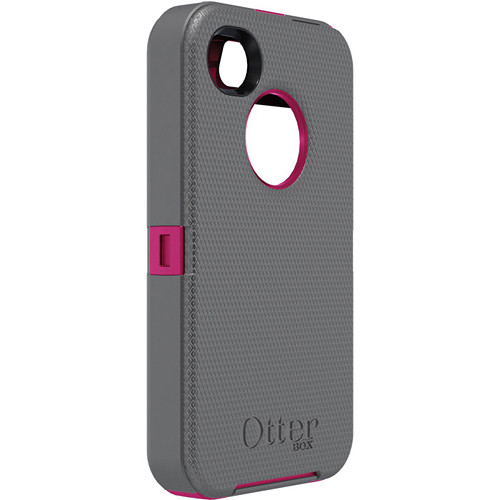 Otter Box Defender Case for iPhone 4/4s (Gunmetal Grey/Peony)