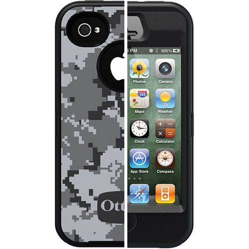 Otter Box Defender Case for iPhone 4/4s (Urban Camo/Black)