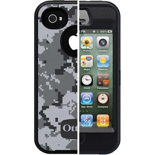 Otter Box Defender Case for iPhone 4/4s (Urban Camo/Black)