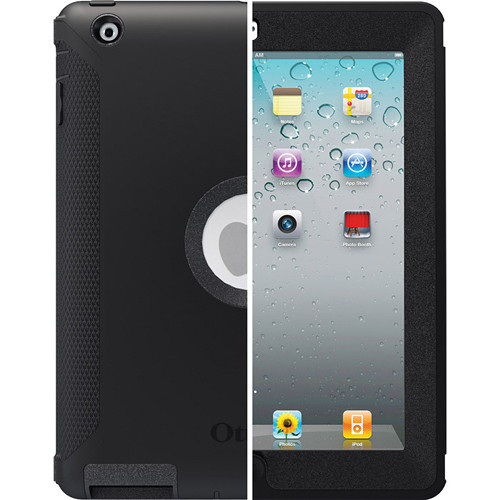 Otter Box Defender Series Case for iPad 2nd, 3rd, 4th Gen (Black)