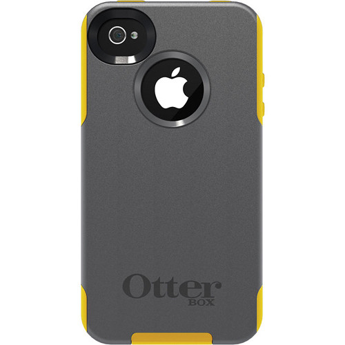 Otter Box Commuter Case for iPhone 4/4s (Gunmetal Grey/Sun Yellow)