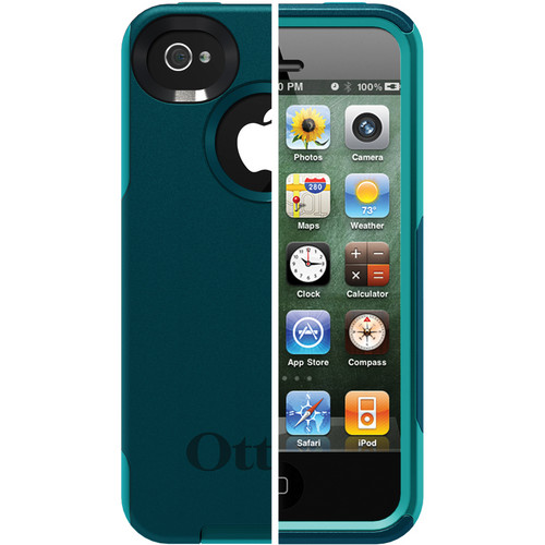 Otter Box Commuter Case for iPhone 4/4s (Deep Teal/Light Teal)