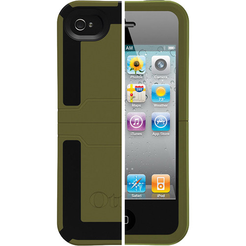 Otter Box Reflex Series Case for iPhone 4 and 4S (Green/Black)