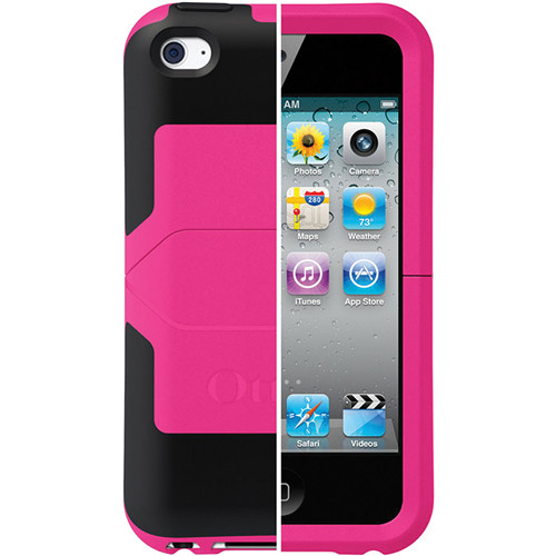 Otter Box iPod touch 4th Generation Reflex Series Case (Pink/Black)