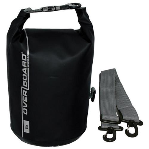 OverBoard Waterproof Dry Tube Bag, (5L, Black)