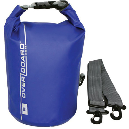 OverBoard Waterproof Dry Tube Bag, (5L, Blue)