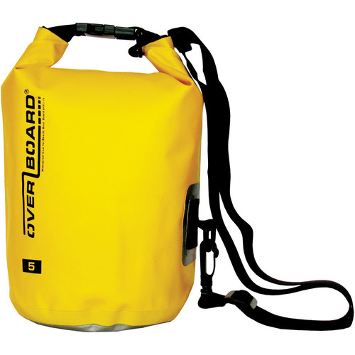 OverBoard Waterproof Dry Tube Bag, (5L, Yellow)